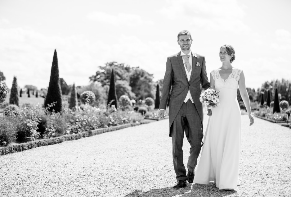 hampton court palace surrey wedding bride groom-LARGE