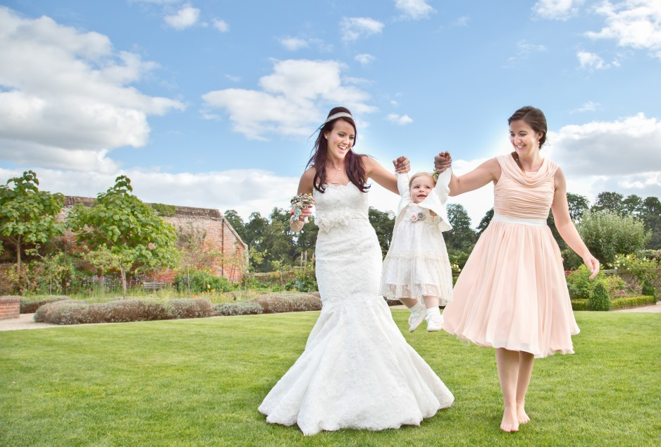 surrey wedding cowdray park walled garden 4-LARGE