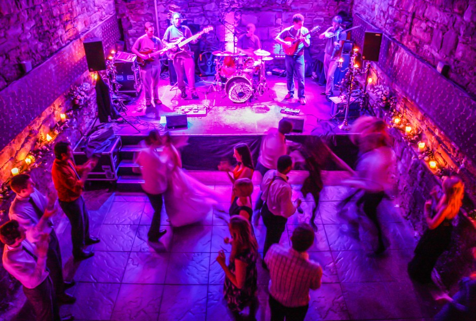 the caves edinburgh wedding venue dancing-LARGE